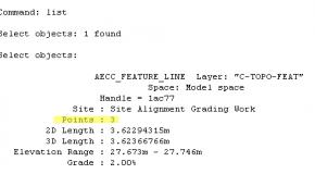 Bài 2D: Sửa cao độ đường Feature Line qua thanh Command Line