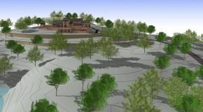 Chèn địa vật block 3D trong Civil 3D