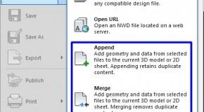 Cách thêm/bớt dữ liệu vào mô hình trong Naviswork Manager 2014