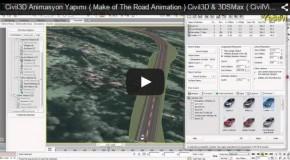 Video hướng dẫn lập mô hình động với Civil 3D và 3D Max(Civil View).