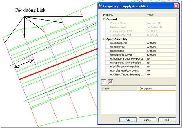 CIVIL 3D VN – Cách ẩn đường Link trên bình đồ trong Civil 3D