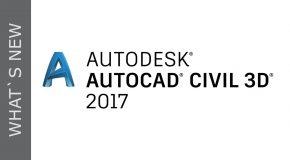 Tính năng mới trong AutoCAD Civil 3D 2017