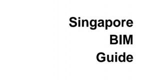 Tài liệu: Hướng dẫn triển khai BIM của Singapore V1.0