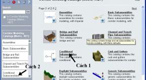 Bài 5: Thêm Subassembly từ Subassembly Catalog..