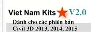 Bộ Viet Nam Kits cho Autocad Civil 3D